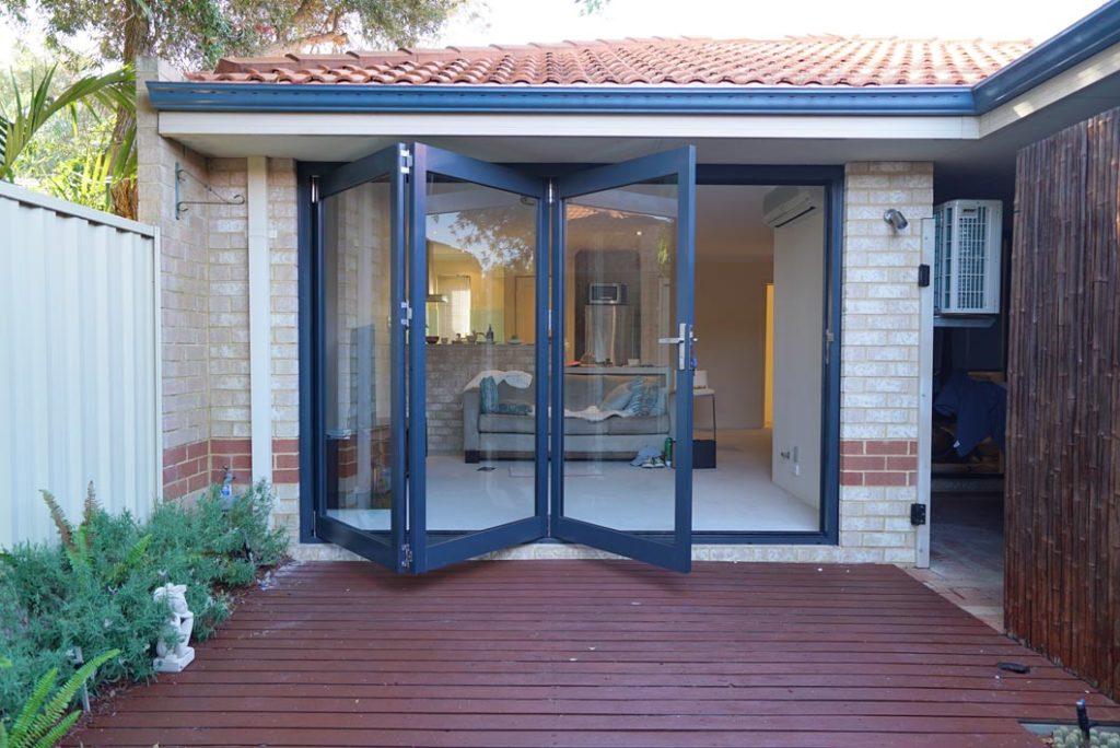 Aluminium Bifold Door Perth & Bi Fold Doors | Harvest Doors