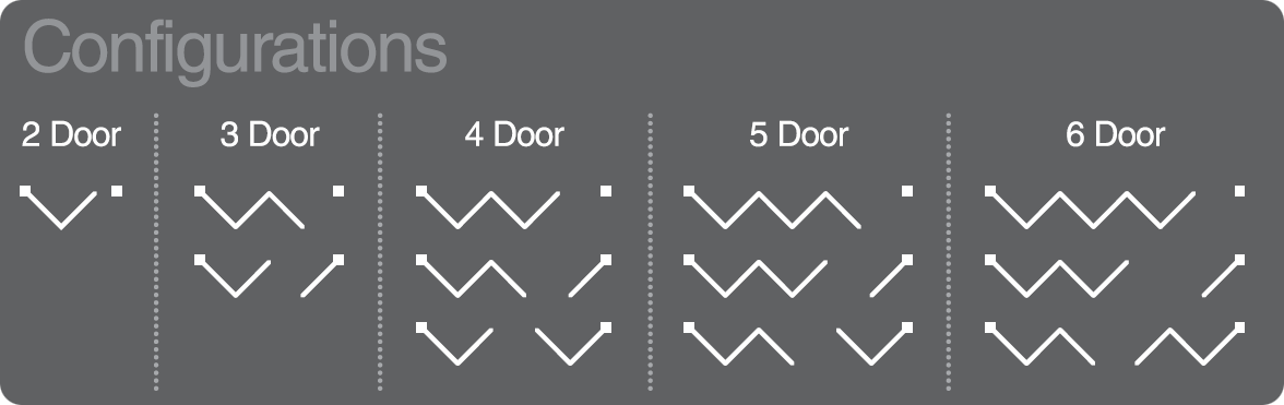 Aluminum Bi Fold Doors 1